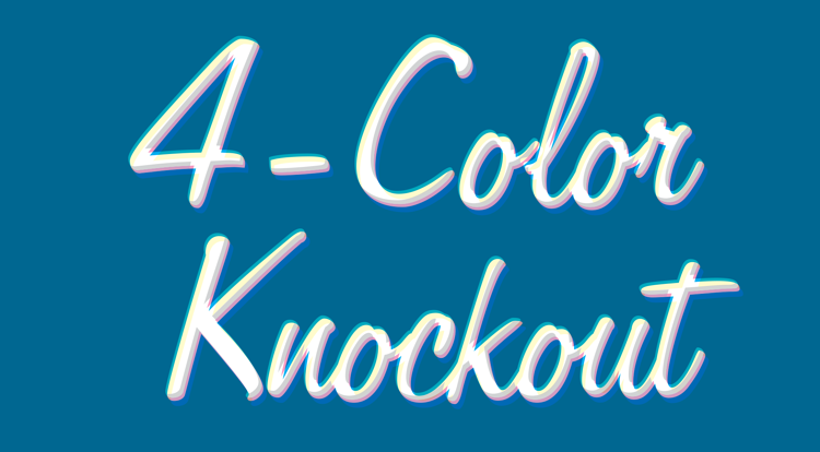 4-Color Knockout