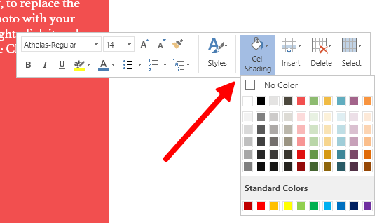 Customize Cell Shading