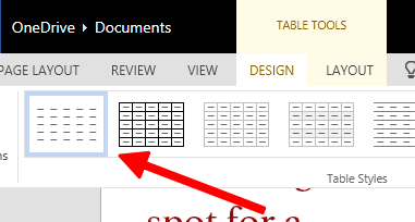 Table Layout Icon