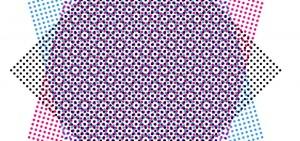 Dot Centered Rosette Pattern