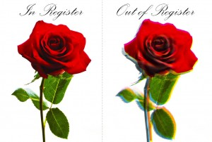 Rose In and Out of Register