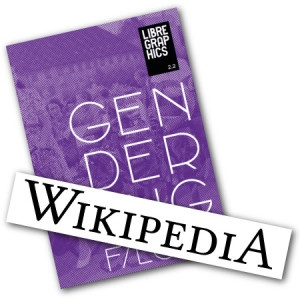 Wikipedia Logo & Libre Graphics Magazine