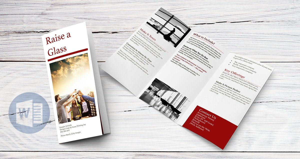 How To Create A Trifold Brochure In Word Online
